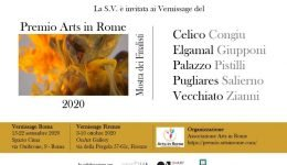 Invito Premio Arts in Rome 2020
